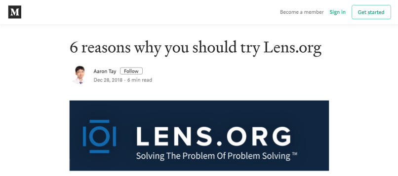 6 reasons why you should try Lens.org